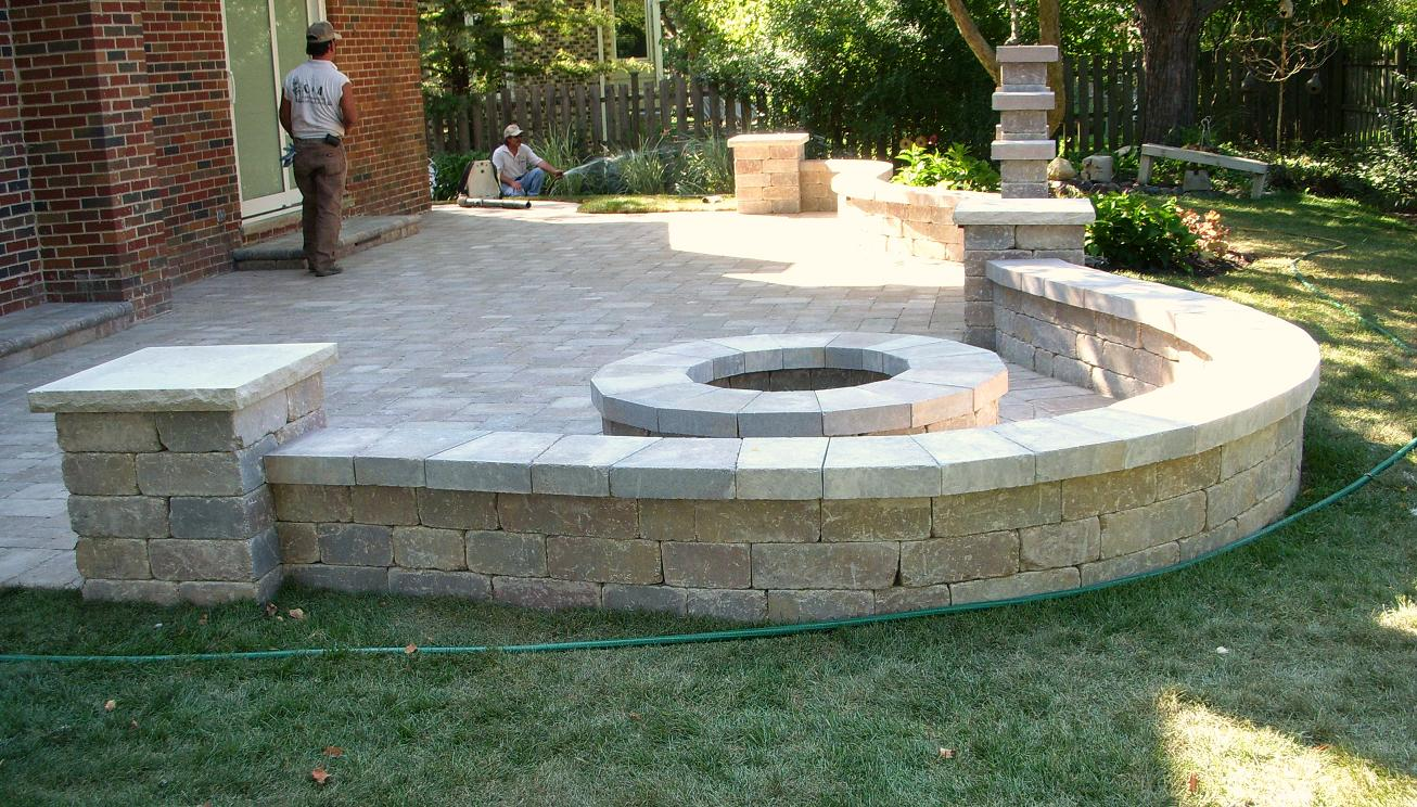 Patio Wall Design stone patio designs stone patio design 26 awesome stone patio designs for your home 11 Gallery Of Patios And Retaining Walls